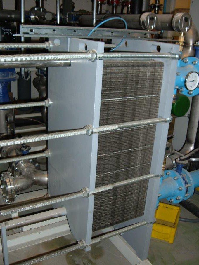 Scambiatore di calore a piastre potenziato