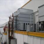 Torri evaporative centrifughe silenziate in copertura