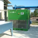 Sistema per la deumidificazione del biogas