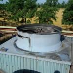 condotti di ventilazione erosi e danneggiati