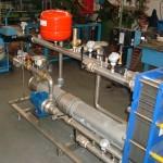 Modulo di cogenerazione fumi / acqua