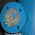 Connessione flangiata su scambiatore a fascio tubiero
