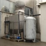 torre evaporativa in acciaio inox con sistema di dosaggio speciale