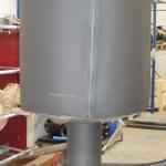 filtro separatore di condense per biogas