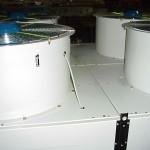 elettroradiatore remoto con ventole aspiranti