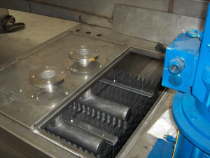 TCOIL per immersione in concentratore - concentration plant for waste water treatment on steel mill plant washing