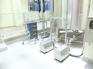 Scambiatori a piastre in un birrificio moderno