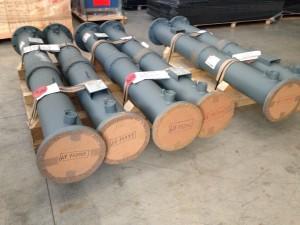 Exhaust heat exchanger for micro cogeneration plants
