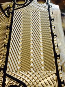 ship nirex desalination plant plate heat exchanger titanium
