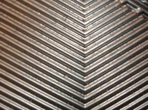 Nirex desaliner titanium plate spare parts heat exchangers
