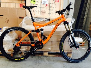 enduro mountain bike