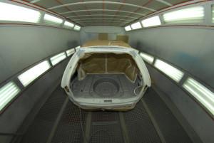 automotive painting industry heat echanger