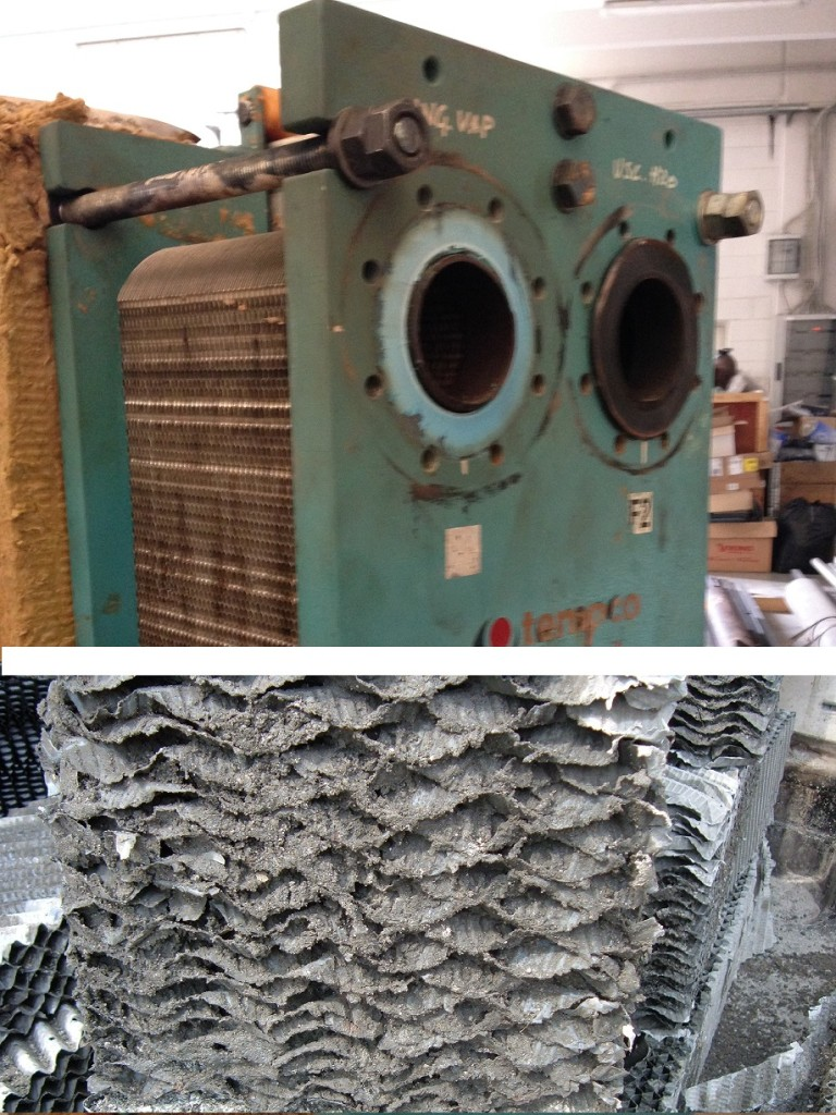 Tempco service heat exchanger cooling tower filling pack