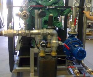 cogenerazione motore olio palma
