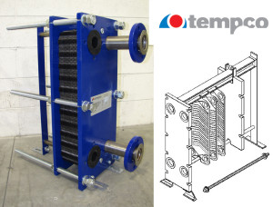 Tempco plate heat exchanger