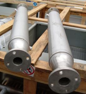 Scambiatori tubo in tubo