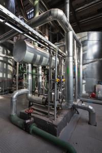 Cogeneration plants - vacuum deaeratorion system