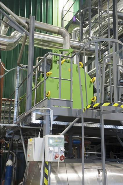 cogenerazione CHP deumidificazione biogas