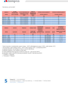 Termoregolazione scheda tecnica centraline T REG HC ST