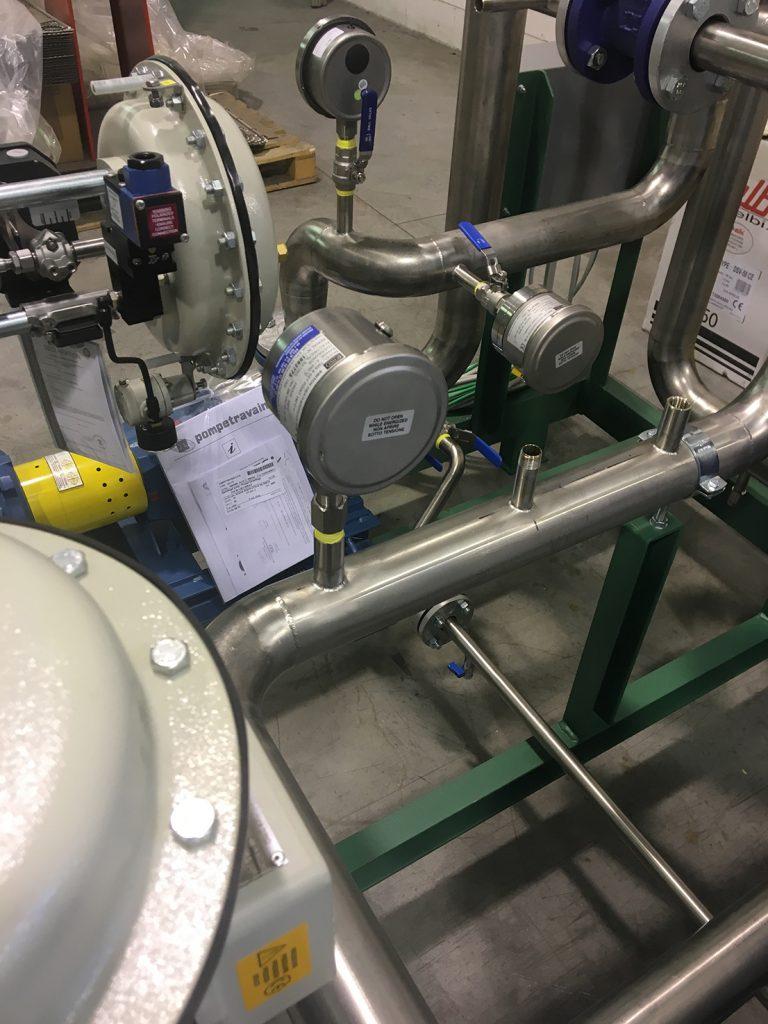 termoregolazione skid atex chimico