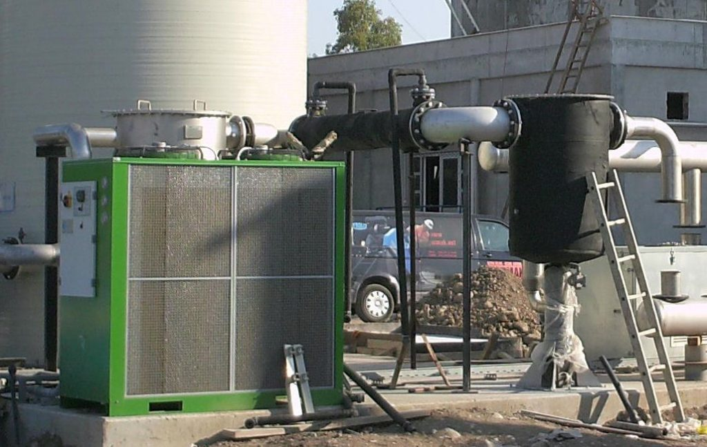 chiller deumidificazione biogas cogenerazione Tempco