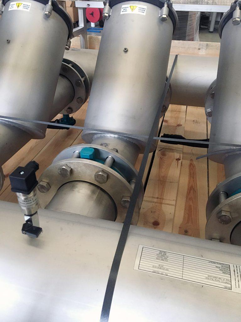 lavaggio trafilatura profili alluminio