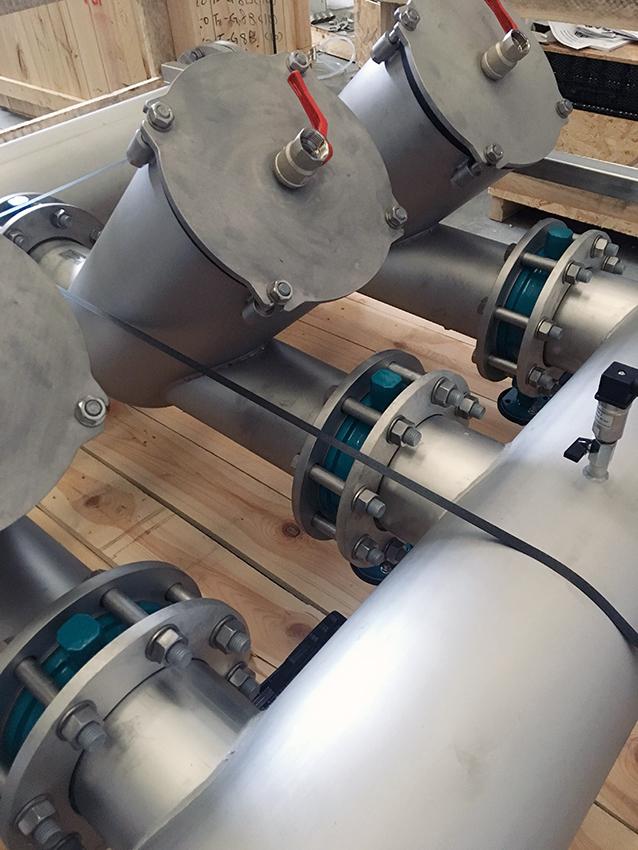 raffreddamento trafilatura alluminio