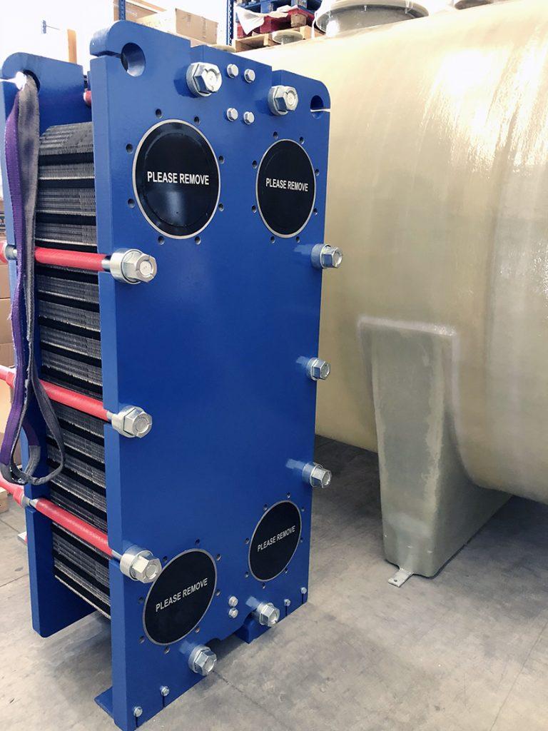 scambiatore di calore trafilatura alluminio