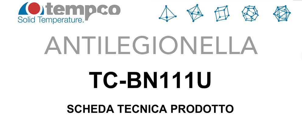 Legionella trattamento antibattericida Tempco BN111U