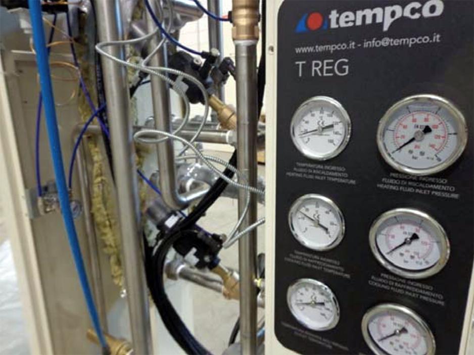 unità termoregolazione TREG avviamento