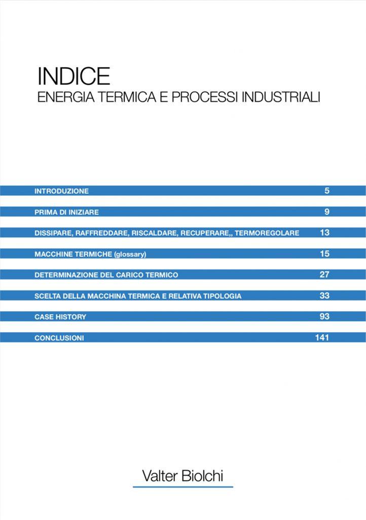 manuale Tempco energia termica indice
