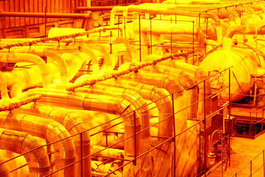 allungamento tubazioni espansione termica