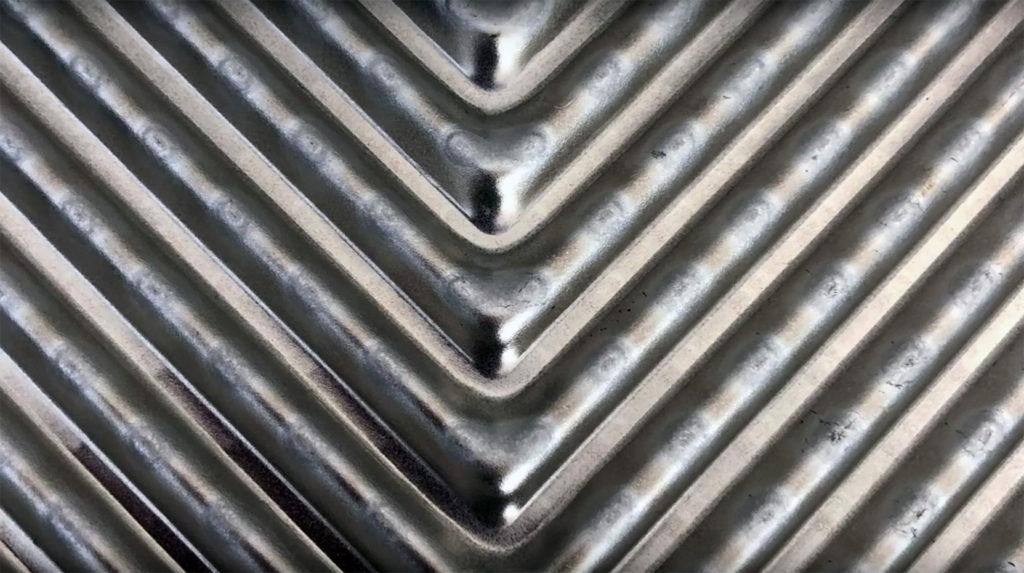 scambiatori a piastre corrugate moto fluidi