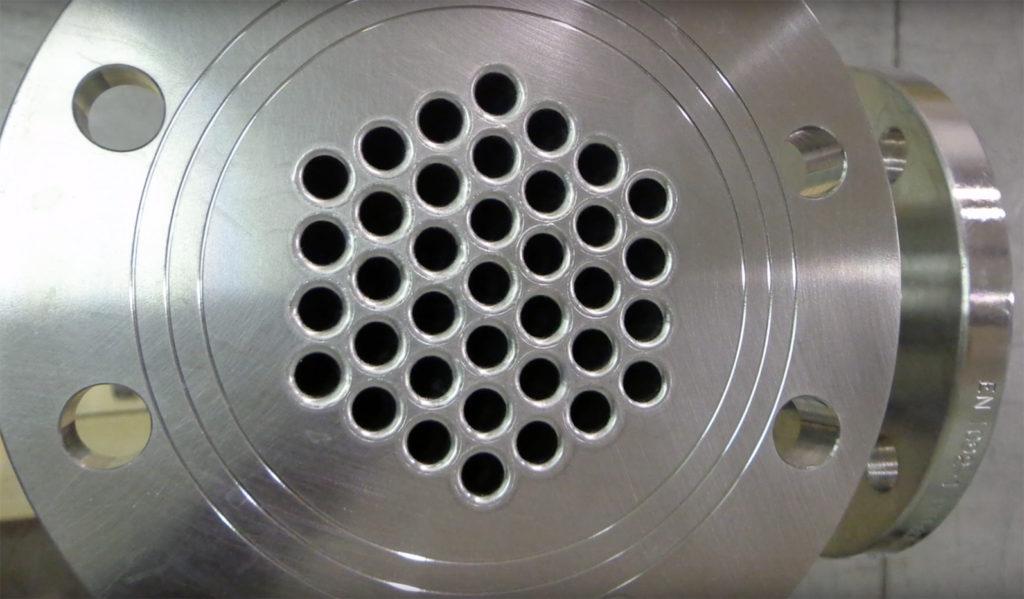 testata scambiatore fascio tubiero cogenerazione