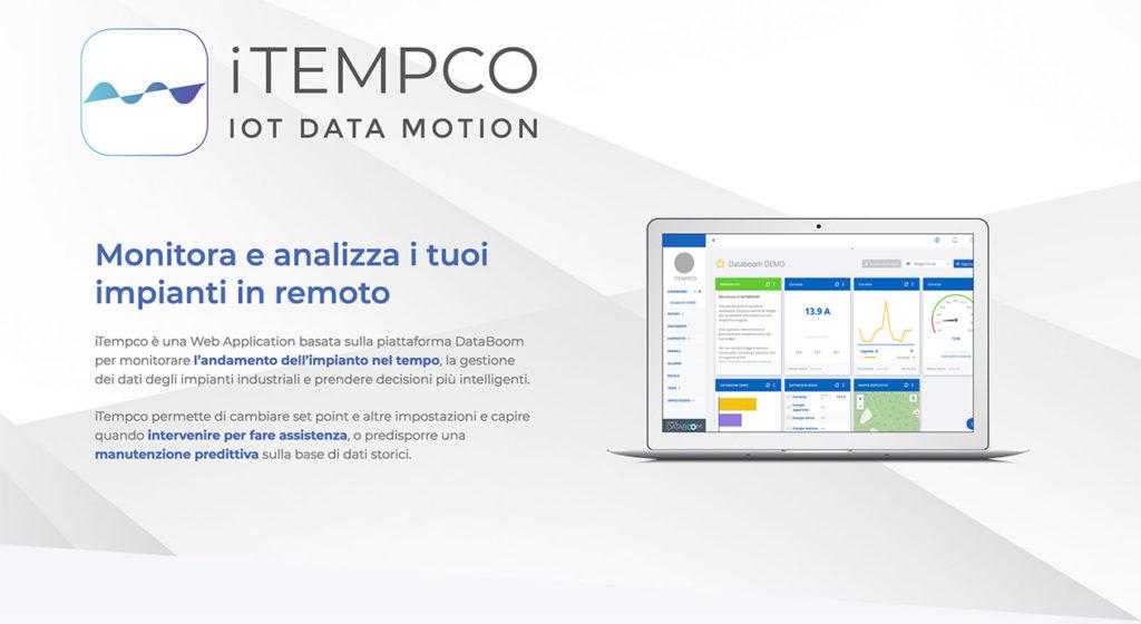 IoT termoregolazione 4.0 iTempco