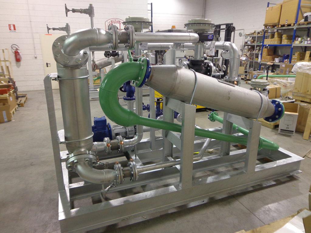 termoregolazione atex industria chimica