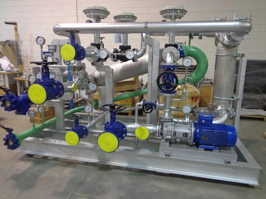 termoregolazione atex impianto chimico