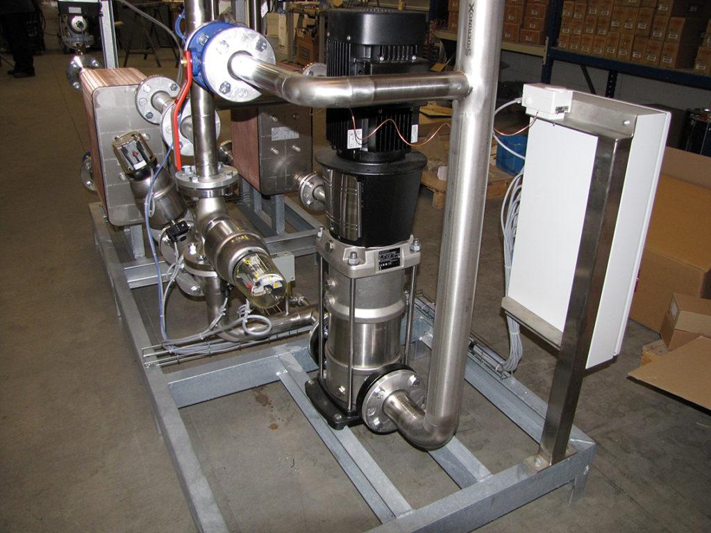 raffinazione metalli pregiati unità termoregolazione