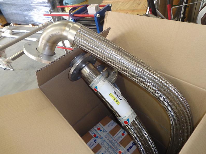 tubazioni connessione impianto raffreddamento