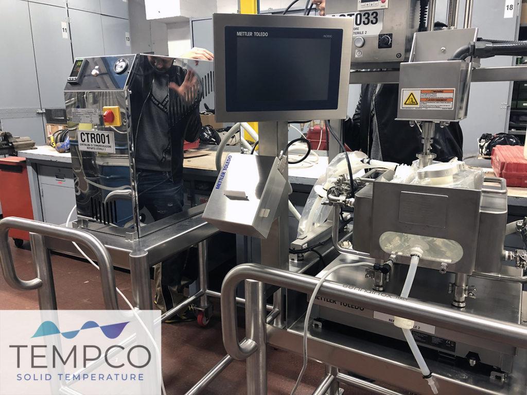 termoregolazione laboratorio farmaceutico