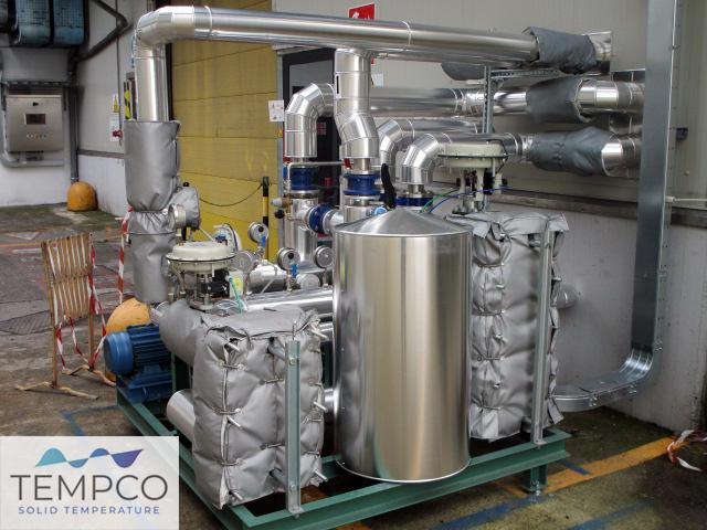 Tempco termoregolazione Atex chimica
