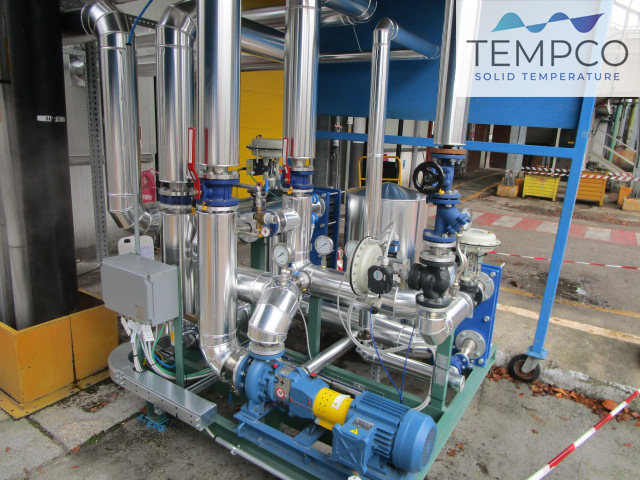 Tempco termoregolazione resine