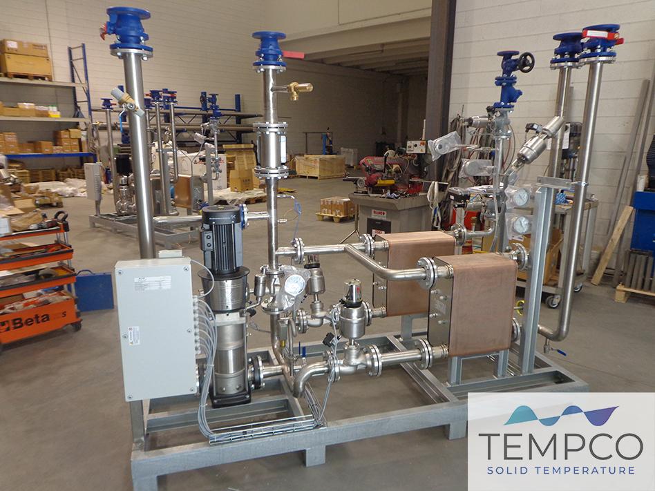 Tempco termoregolazione industria chimica