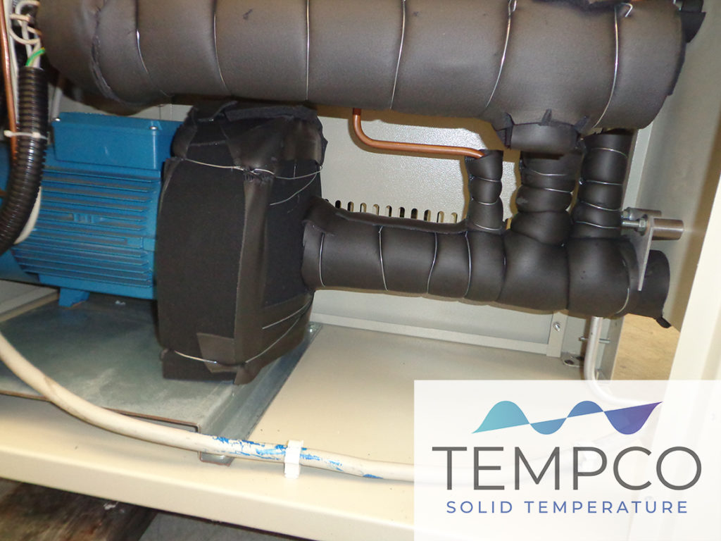 unità termoregolazione banco prova automotive