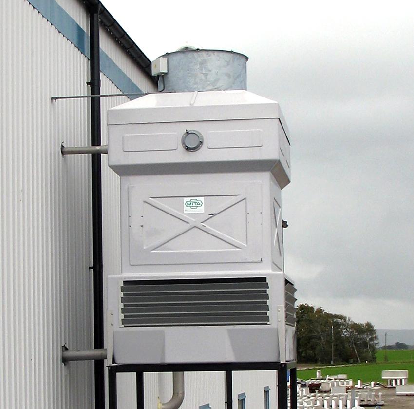 Torre evaporativa test convertitori
