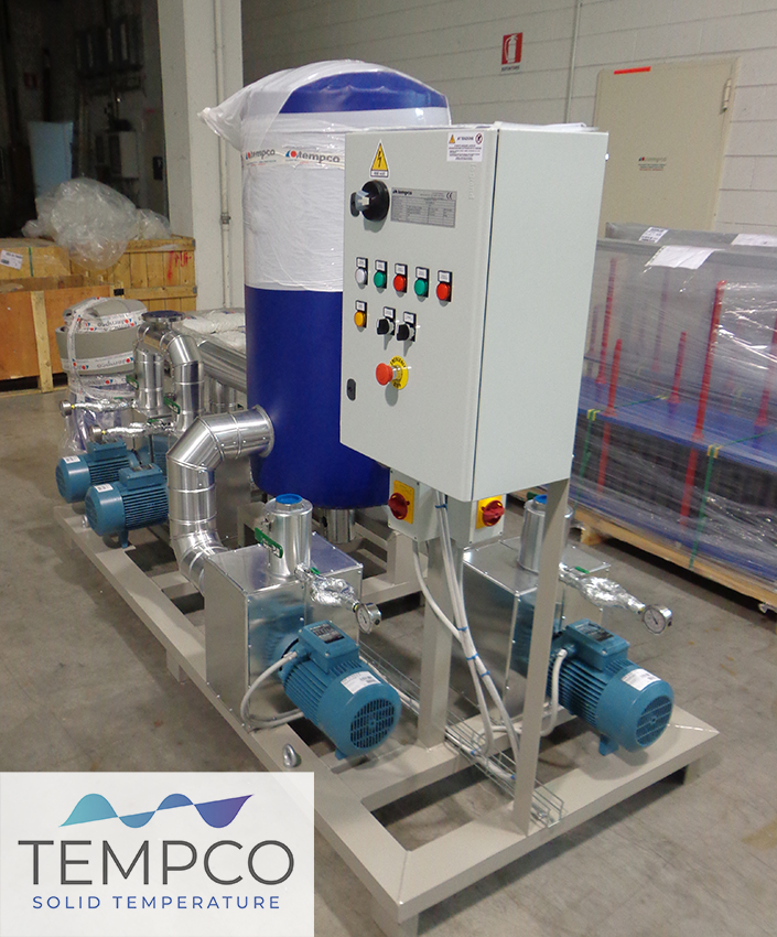 Tempco chiller cryogenic cooling