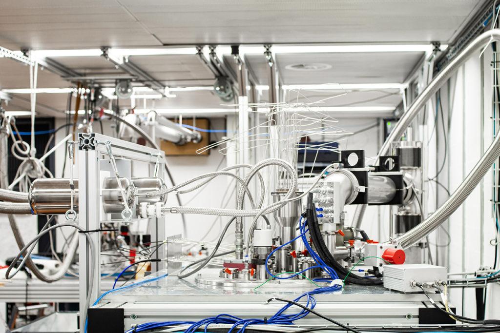 raffreddamento laboratorio fisica nucleare