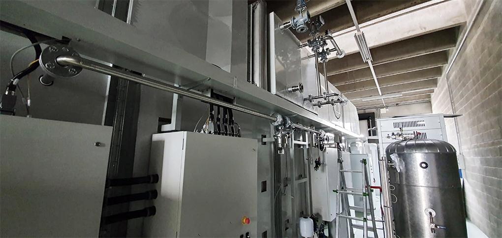 Raffreddamento Banco prova radiatori