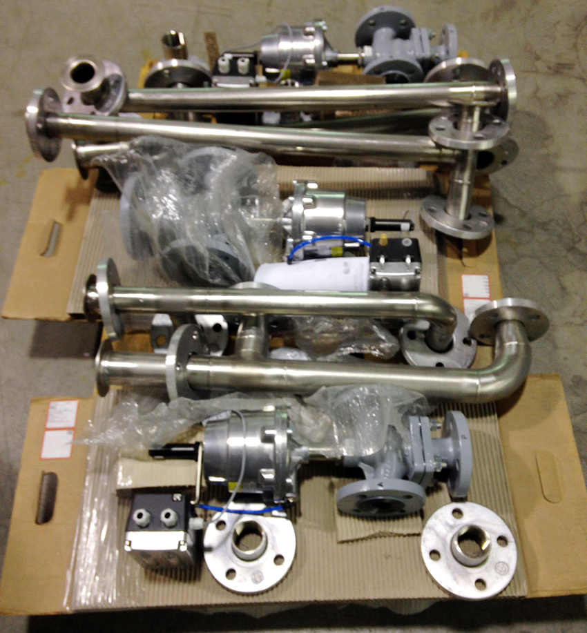 test radiatori montaggio