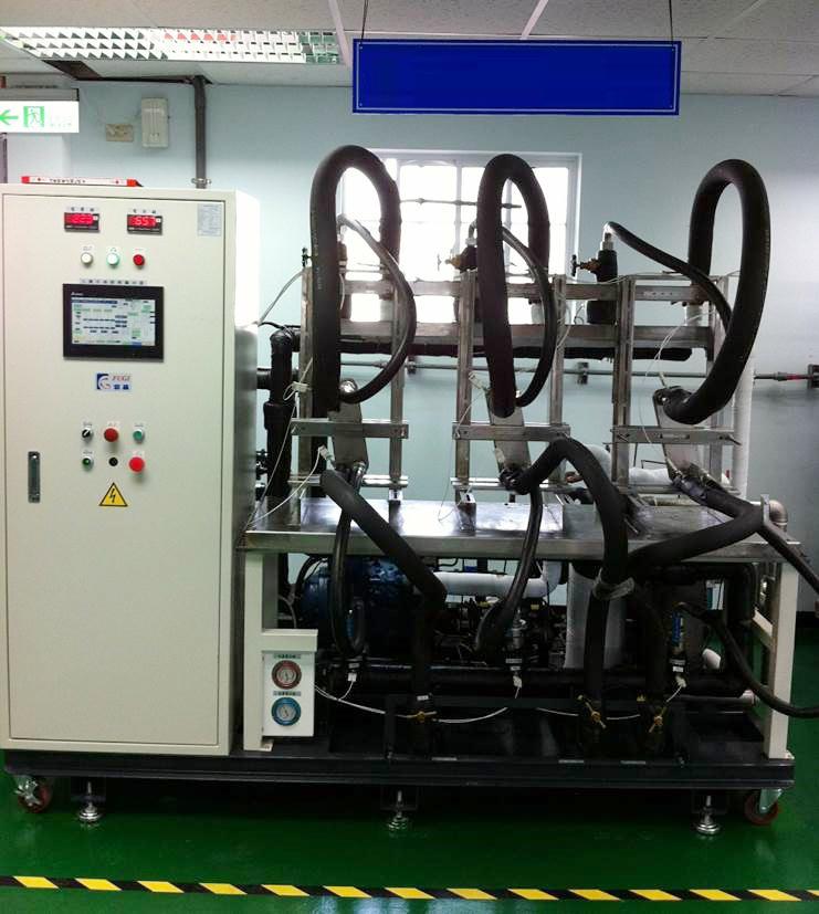 testing scambiatori calore veicoli a idrogeno